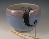 Yarn / Knitting Bowl - Wheel Thrown Stoneware by Seiz Pottery