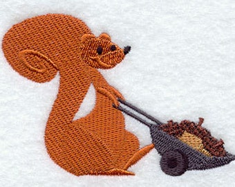 Acorn Harvest Embroidered Flour Sack Hand/Dish Towel