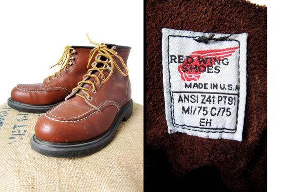 Vintage Red Wing Boots 4439 Size 9 D 10