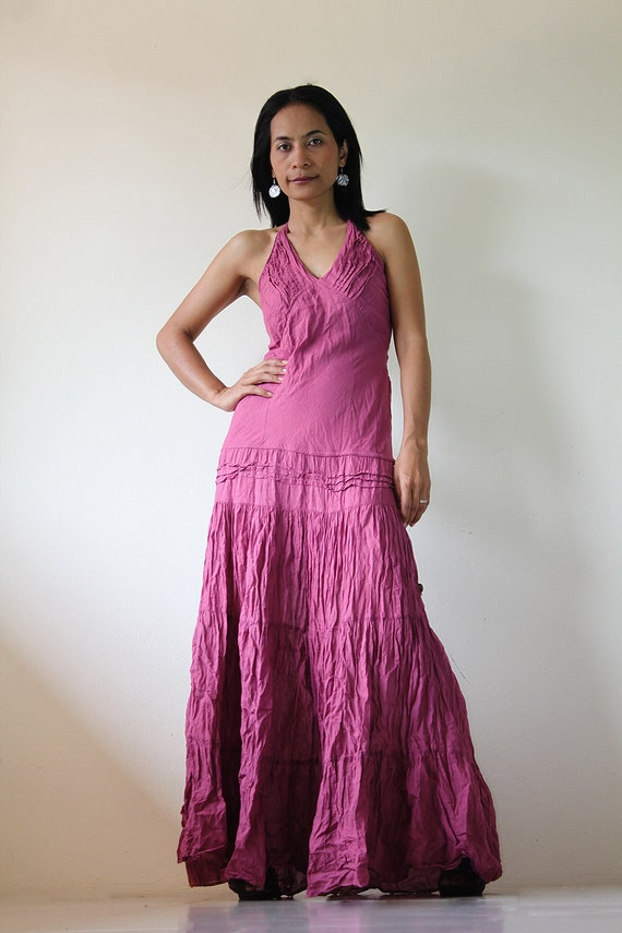 Tie Dye Maxi Dress  : Exotic Collection