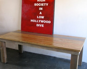 Beautiful Wood Dining Tables. made in DTLA.