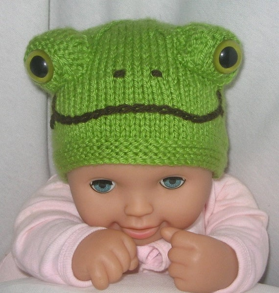 ladybird and frog beanies knitting pattern pdf file by. Black Bedroom Furniture Sets. Home Design Ideas