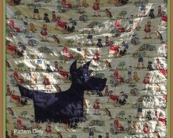 Scottie dog quilt pattern