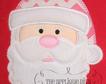 Christmas Santa  Digital Embroidery Design Machine Applique