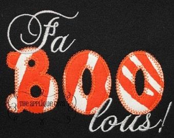 Halloween Faboolous Digital Embroidery Design Machine Applique