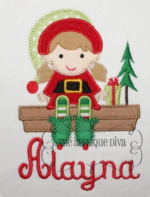Sassy Elves Machine Embroidery Designs
