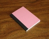 Mini composition book - pink with lots of glitter