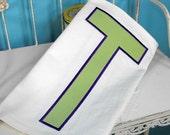 """SUPER JUMBO Simple Block APPLIQUE Font Set - Machine Embroidery Font - Sizes 8"""", 9"""", 10"""" & 11"""""""