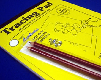 Create Your Own Transfer Tracing Pad & Transfer Pencil