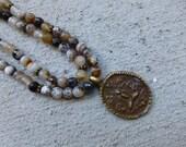 Buddha Agate Necklace