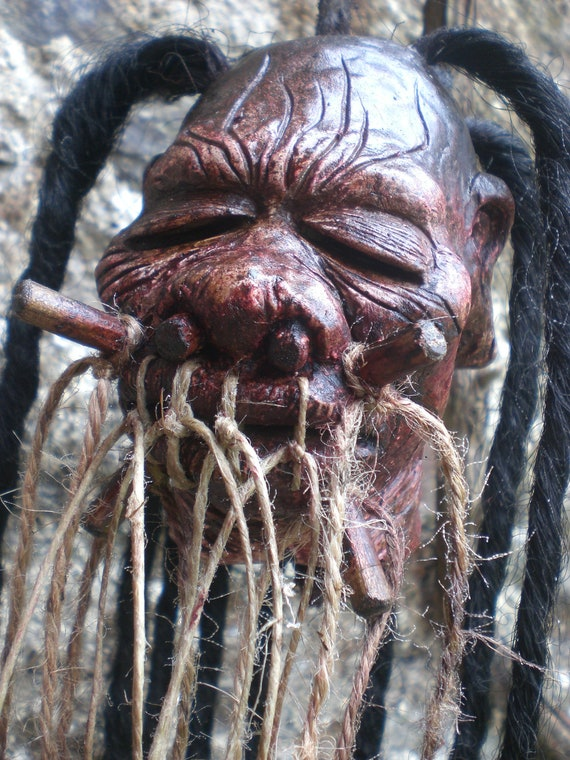 Shrunken Head Replica Dead Dread Head Extreme