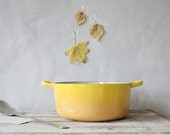 Vintage Le Creuset Enamel Pot
