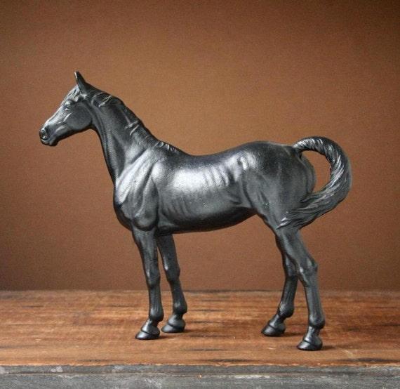 Cast iron horse vintage doorstop - Cast iron doorstop ...