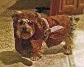 Ewok dog costume - Made to order only