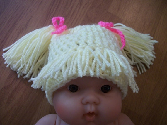 1-3 year Cabbage Patch Hat - Photo Prop