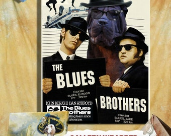 "Shop ""blues brothers"" in Drawing & Illustration"