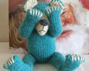 Knitted Bear Pattern BUY 2 Patterns, GET 1 FREE