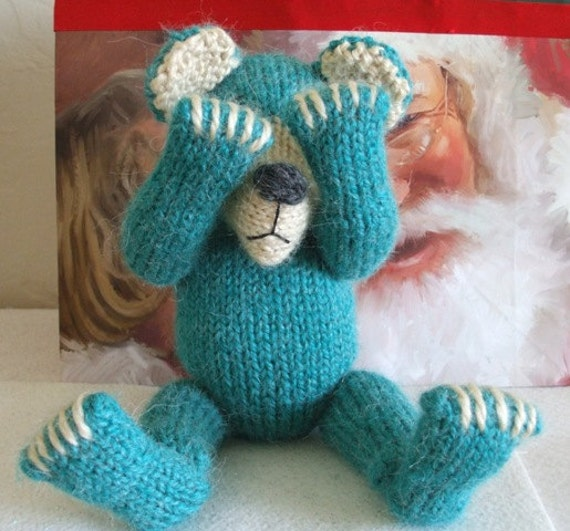 Knitted Bear Pattern BUY 2 Patterns, GET 1 FREE