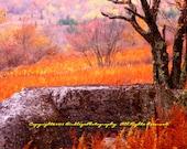 Flaming Rock in West Virginia