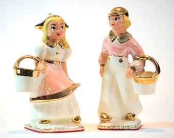 Vintage Hansel and Gretel Porcelain Figurines