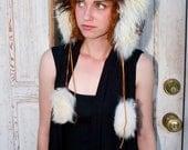 Alpaca Fur Hat ----Panda