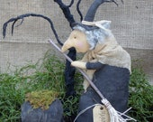 Primitive Witch,  Halloween Decor, Home Decor
