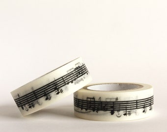 Music Stave Washi Tape