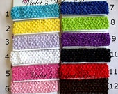 Crochet Headbands- you choose 1 from 14 colors of interchangeable headbands