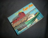 Vintage Picturesque Cape Ann Mini Souvenir Folder SALE
