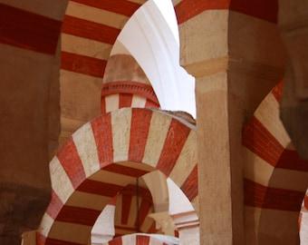 Mezquita in Cordoba, Spain - fine art print