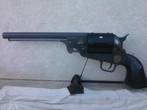 1851 Colt Navy Dragoon handgun BBQ grill and smoker