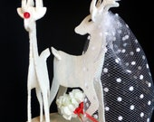Holiday Wedding Cake Topper