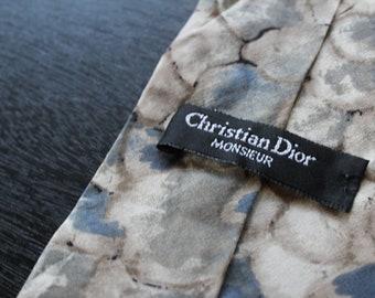 Christian Dior Designer tie, 100% Silk,  FREE SHIPPING