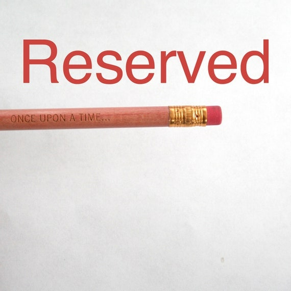 RESERVED do not buy unless you're L. on HOLD Hot pink pencil set