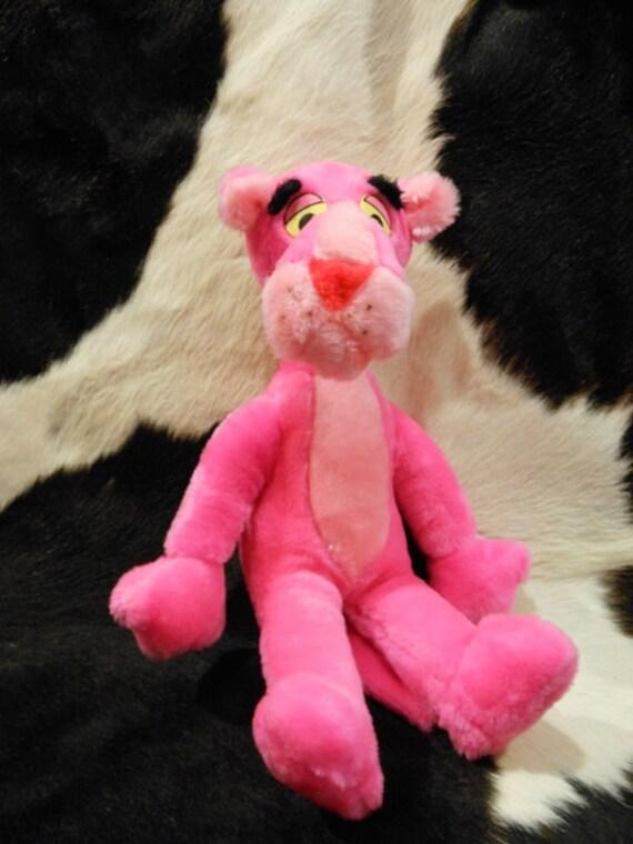 Vintage Plush Pink Panther Doll