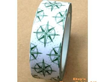 Japanese Washi Masking Tape - Bright Star - 11 yards