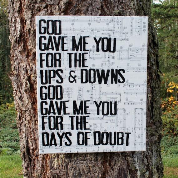 Blake Shelton - God Gave Me You Lyrics and Free YouTube ...