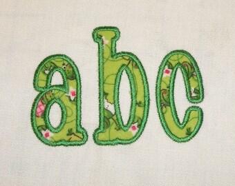 Chachie Applique Machine Embroidery Font Monogram Alphabet - 4 Sizes