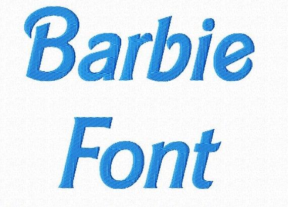 barbie style machine embroidery font monogram alphabet 3 original barbie logo font original barbie logo font