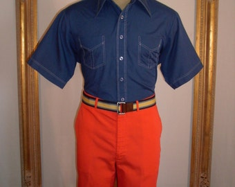Vintage WWF by Farah Red Trousers - Size 36