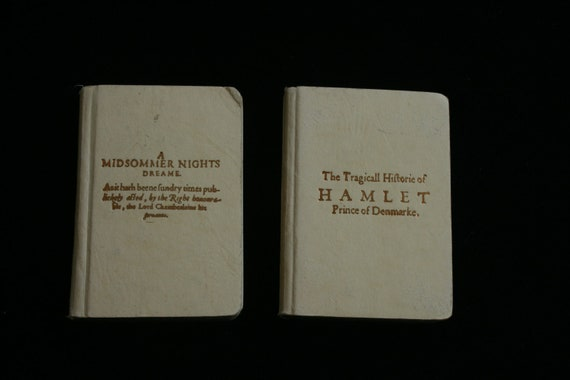 Collection of Six Miniature Books from Belgium