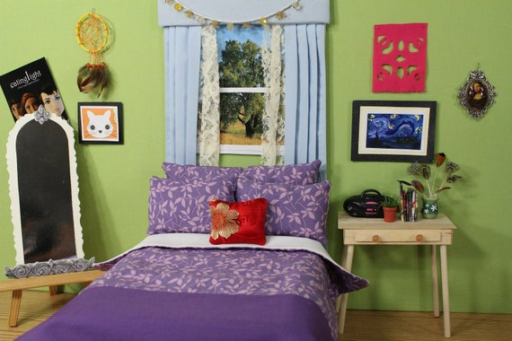 Twilight Inspired Doll Bedding for Barbie Fashion Royalty - photo#9