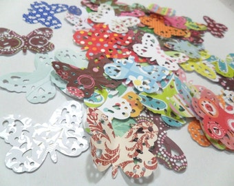 Large Butterfly Die Cuts, Scrapbooking Butterflies, Butterfly Confetti, Paper Butterflies, Butterfly Die Cuts, Butterfly Embellishments