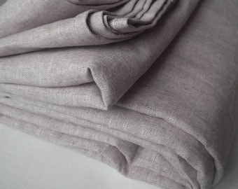 Duvet cover Natural Oatmeal mix color pure Linen Flax - Washed Softened Medium weight - Twin Full Double Queen King Cal King - USA size