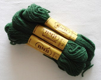 BMB Norwegian Tapestry Wool Dusty Forest Green Color 274.