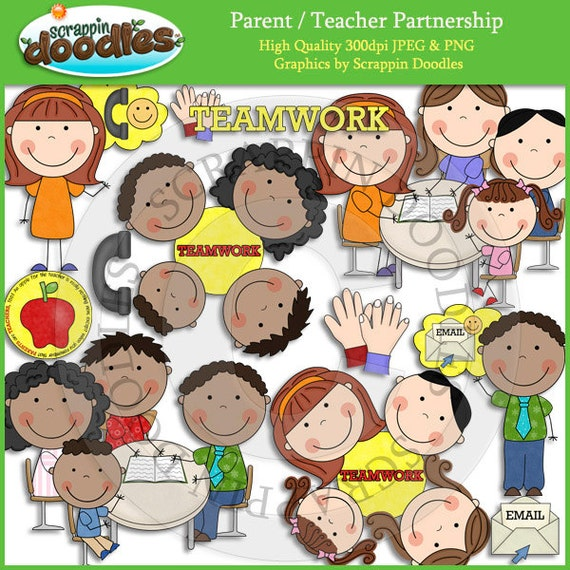 clipart of teacher and parents - photo #31