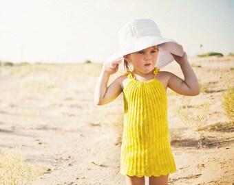Super Easy Crochet Pattern Toddler Dress Pattern No. 13