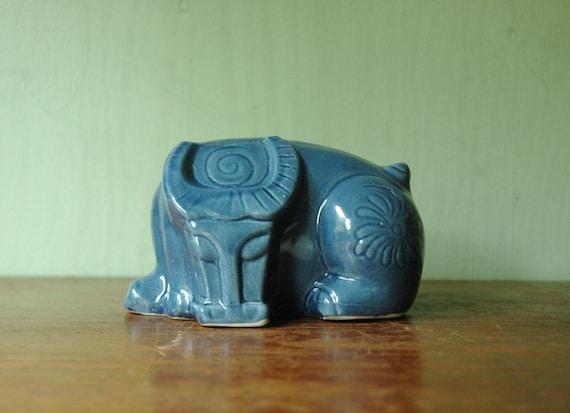 Mid Century Modern Ceramic Bull - Danish Modernist Animal Figurine - Bitossi Era Animal