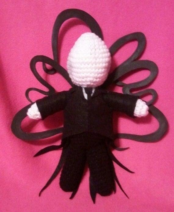 Amigurumi Slender Man : NERD DOLLZ Amigurumi Crochet doll handmade slender by ...