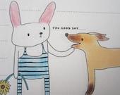 letter-paper / BunnyDoggie